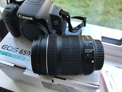 Canon EOS 650D Kit With 18-135mm IS STM Lens • 549£