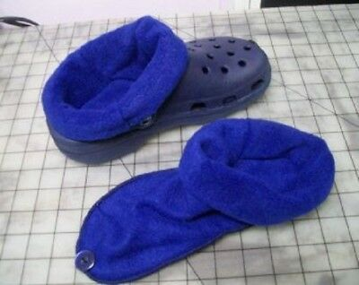 $10.50 • Buy Socks / Liners For Croc, Crocs Or Clogs Great For Winter - Royal Blue