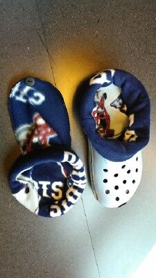 $10.50 • Buy Socks / Liners For Croc, Crocs Or Clogs Of The  New England Patriots