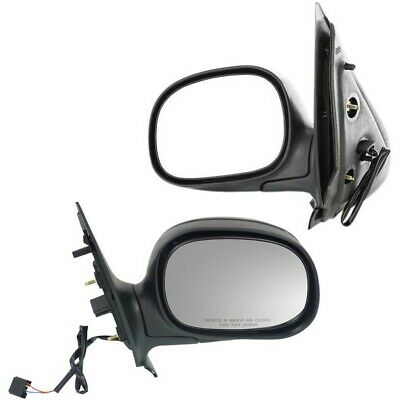 $61.14 • Buy Folding Power Gloss Black Mirrors Pair Set For Ford Expedition Pickup Truck F150