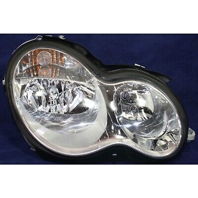 $140.66 • Buy Halogen Headlight For 05-07 Mercedes Benz C230 06-07 C280 Passenger Side W/ Bulb