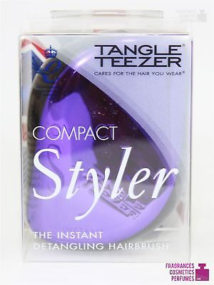 Tangle Teezer Compact Styler Brush Purple Dazzle • 9.99£