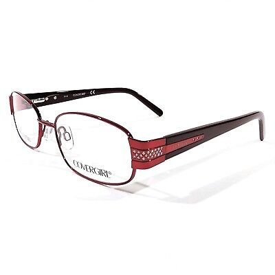 6680366d9c New COVERGIRL Women s Optical Eyeglasses RX Frame CG0825 069 Red 53-17-135 •