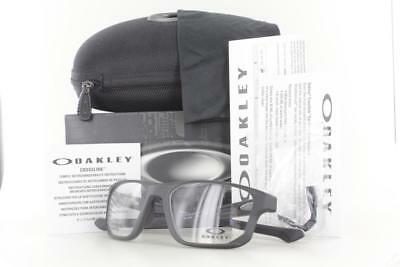 2e60cb7935573 Oakley Crosslink Fit RX Eyeglass Frame Satin Black OX8136M-0155 55mm New  8136M • 87.99