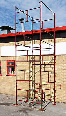 NEW D.I.Y Steel Scaffold Tower Scaffolding Tower 4x4x18'wh HD • 229£
