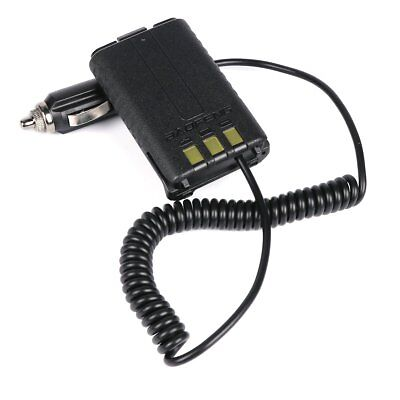 12V Car Charger Battery Adapter Eliminator For Baofeng UV5R Plus Two Ways Radio • 3.51$