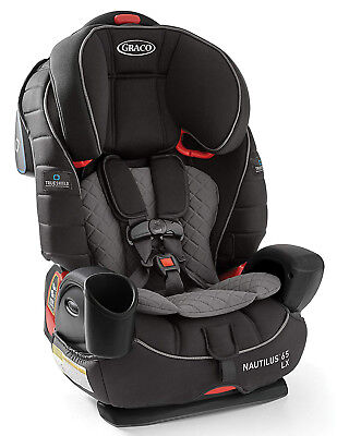 £138.93 • Buy Graco Baby Nautilus 65 LX 3-in-1 Harness Booster Car Seat Child Safety Ion NEW