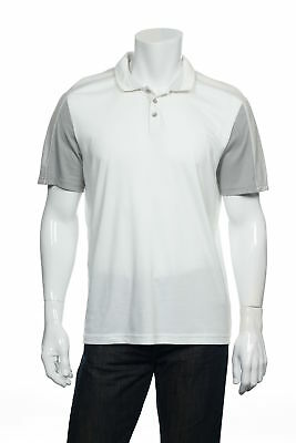 13eb792fe Calvin Klein Men's Color Block Polo Shirt Golf (Large, White) $65 • 41.17