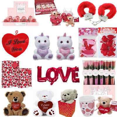 VALENTINES DAY ROMANTIC GIFTS For His Her Love U Heart Cute Bears Valentine Gift • 2.99£