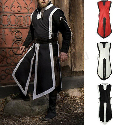 £11.99 • Buy Medieval Vintage Mens Womens Tunic Top Shirt Viking Knight Cosplay Costume Party