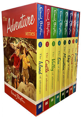 £16.97 • Buy Enid Blyton Adventure Series Collection 8 Childrens Classic Books Set Island NEW
