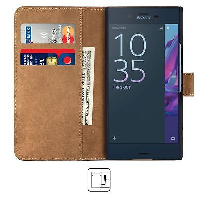 AU4.44 • Buy BLACK Sony XPERIA XZ / XZs Protective PU Leather Wallet Flip Cover