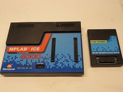 £109.11 • Buy Microchip MPLAB ICE 4000 Universal Device Programmer PMF18WB0 Processor Module
