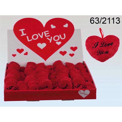 I Love U Small Red Heart Cushion Valentines/Mothers Day Love Romantic Cute Gift • 2.99£