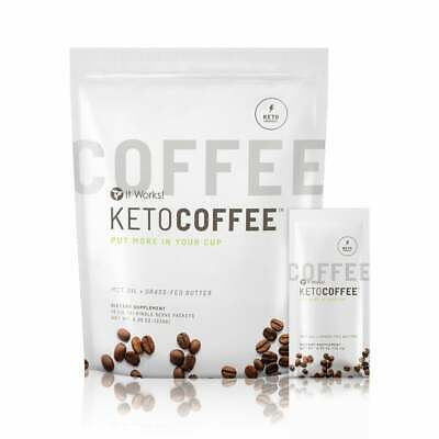 $45.99 • Buy It Works!  Keto Coffee 15 Single Serve Packets - SCIENTIFIC CARB MANAGEMENT