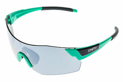 1176ffb2d0c Smith Pivlock Arena Max Sunglasses Opal Frame Mirrored Black Lens -  Excellent • 48.99