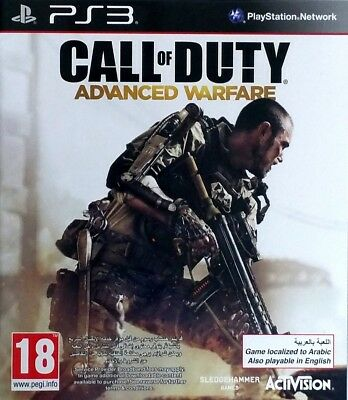 Call Of Duty Advanced Warfare AW - Playstation 3 / PS3 Video Game • 3.50£