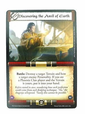 L5R CCG : Discovering The Anvil Of Earth : A Coming Storm • 4.50£
