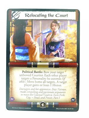 L5R CCG :Relocating The Court FOIL  : A Coming Storm • 7£