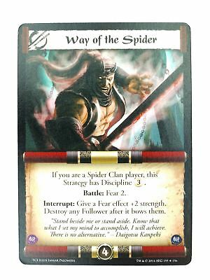 L5R CCG : Way Of The Spider : A Coming Storm • 3£