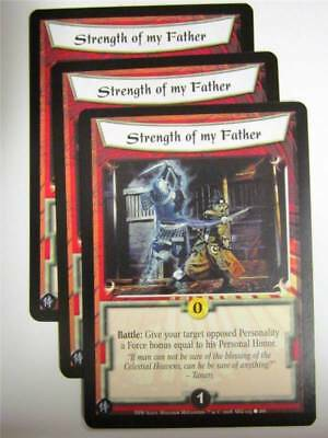 L5R CCG: STRENGTH OF MY FATHER 125/166 X3 : The Heaven's Will • 1.29£