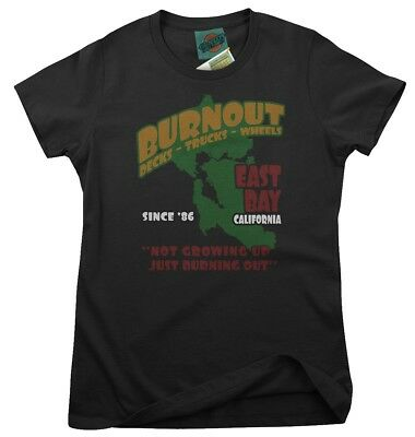 GREEN DAY Inspired BURNOUT, Women's T-Shirt • 18£