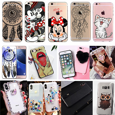 Silicone Phone Case IPhone Samsung Perfect Gift LuxuryPhone Cover • 3.99£