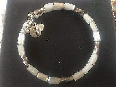 ALEX And ANI Indie Spirit VINTAGE 66 ICE ALLURE Beaded Wrap BRACELET 💎 • 34£