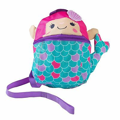 RedKite Mermaid Backpack Bag With Detachable Safety Reins • 10.49£
