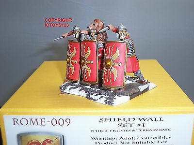 £149.99 • Buy Conte Rome009 Rome At War Roman Legionaires Shield Wall Toy Soldier Figure Set 1