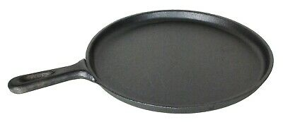 Buckingham Pre-Seasoned Cast Iron Crepe Pan / Griddle 27 Cm Premium Quality • 24.50£