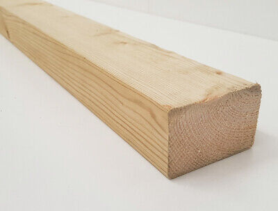 Regularised Treated Structural Graded Timber Joists 70x44mm 3x2   • 11.59£