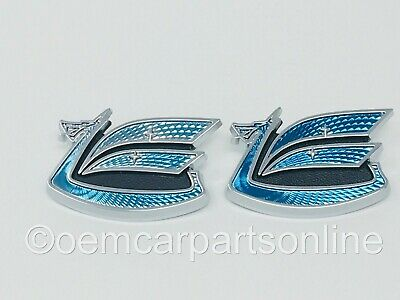 AU44.34 • Buy Toyota Celica 1971-77 Rear Quarter Panel Blue Dragon Emblem Set Of 2 75386-14901