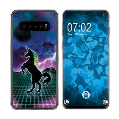 Case For Samsung Galaxy S10 Silicone Case Retro Wave M2 Cover • 8.90£