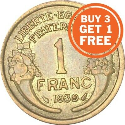 AU2.63 • Buy 1 French Franc 1931 To 1941 Choice Of Date