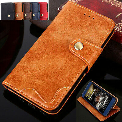 AU11.99 • Buy For Sony Xperia L2 L1 XZ3 XZ2 XZ1 XA2 XA1 Case Genuine Leather Flip Wallet Cover