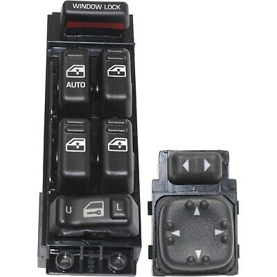 $39.77 • Buy New Kit Power Window Switch Front Driver Left Side Black For Chevy Avalanche LH