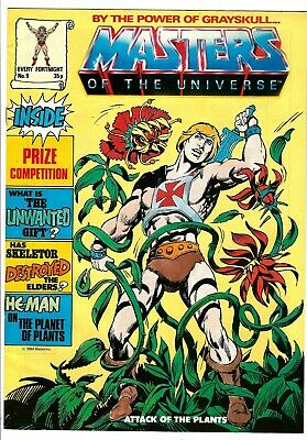 $19.99 • Buy Masters Of The Universe Magazine #9 (1986) VG  UK Edition  He-Man - Skeletor