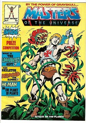 $29.99 • Buy Masters Of The Universe Magazine #9 (1986) VG/FN-FN  UK Edition  He-Man