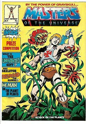 $34.99 • Buy Masters Of The Universe Magazine #9 (1986) FN  UK Edition  He-Man - Skeletor