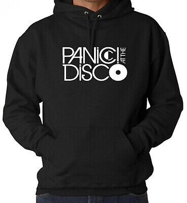 PANIC! AT THE DISCO Hoodie Inspired Rock Band  LOGO  Unisex  Jumper Quality Top • 13.69£