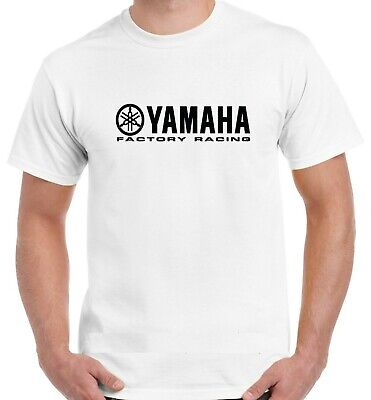 Yamaha Factory Racing Logo T Shirt  Motorbike Motorcycle Best Quality Top • 7.79£