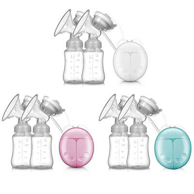 View Details Electric Hand Free Double Breast Pump Automatic Intelligent Baby Feeder USB TRAN • 12.88£