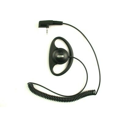 £4.95 • Buy Soft D Shape Security Earpiece (2.5mm STEREO Right Angle Plug) CRT 300-2 CURLY