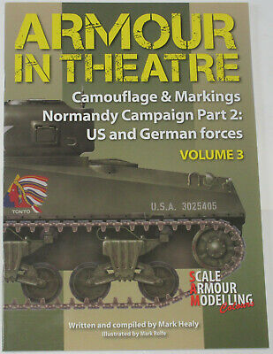 £19.99 • Buy TANKS NORMANDY WW2 Camouflage Markings USA German NEW Armour Theatre (Volume 3)