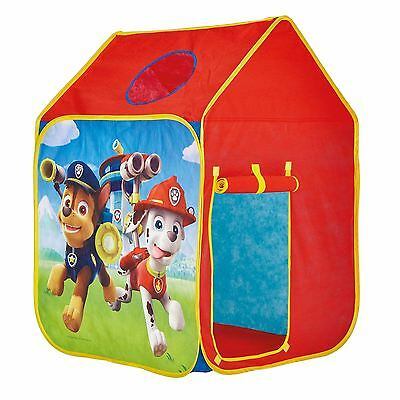 Paw Patrol Wendy House Kids Indoor & Outdoor Play Tent Chase, Marshall, Ryder   • 24.99£