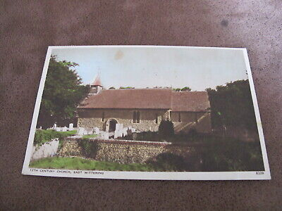 West Sussex Postcard - East Wittering Church - Chichester District • 1.40£