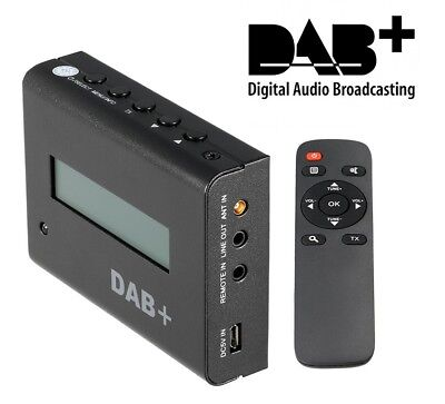 ^rz Receiver Radio Digital DAB+ Plus Receiver Home Car Tuner Adapted • 74£