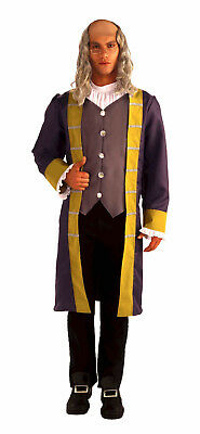 $35.99 • Buy Adult Ben Franklin Costume Early American Colonial Men's Size Standard