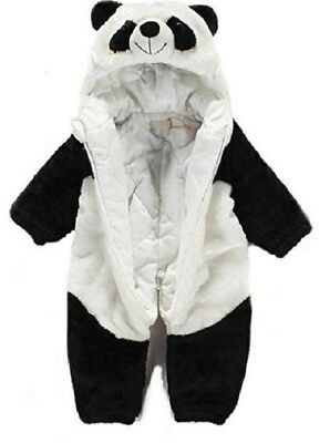 Baby Boy Girl Christmas Panda Fancy Party Costume Outfit Clothes Cosplay New • 14.60£